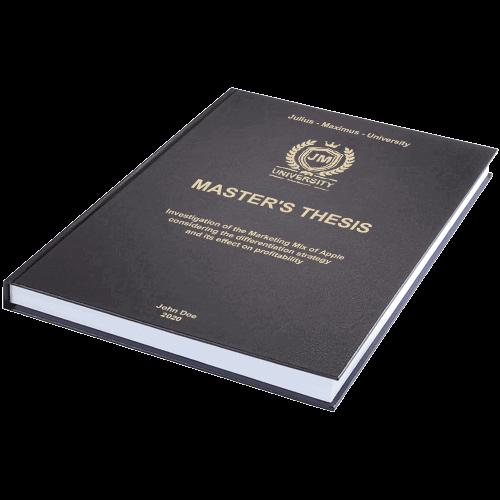 Standard leather book binding