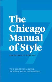 Chicago Style Citation Manual