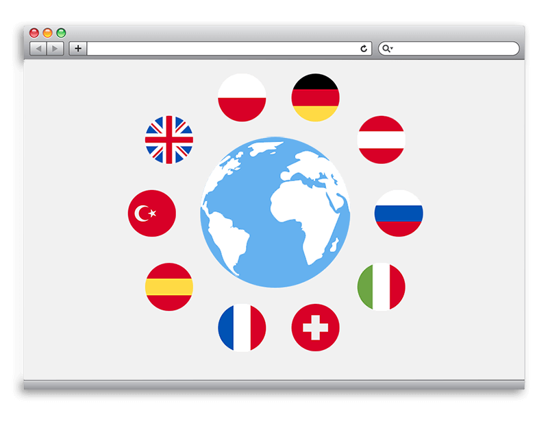 Plagiarism software in many languages