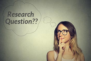 research question academic writing