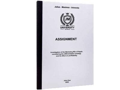 Assignment printing thermal binding black