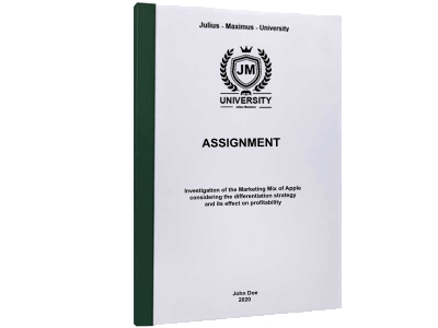 Assignment printing thermal binding green