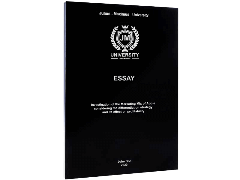 Essay printing softcover binding black