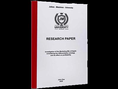 Paper printing binding thermal binding red