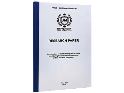 Research Paper thermal binding blue
