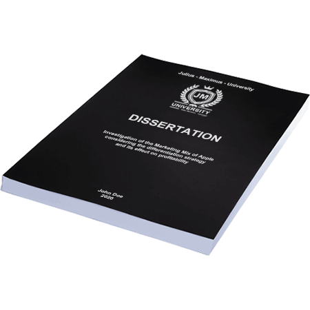 dissertation printing binding softcover individual
