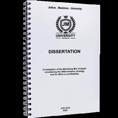 dissertation printing binding spiral binding