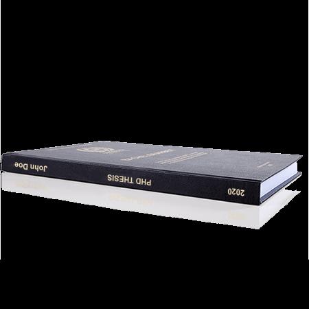 phd printing binding leather binding standard spine