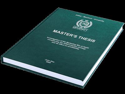 thesis premium binding green