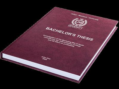thesis premium binding red