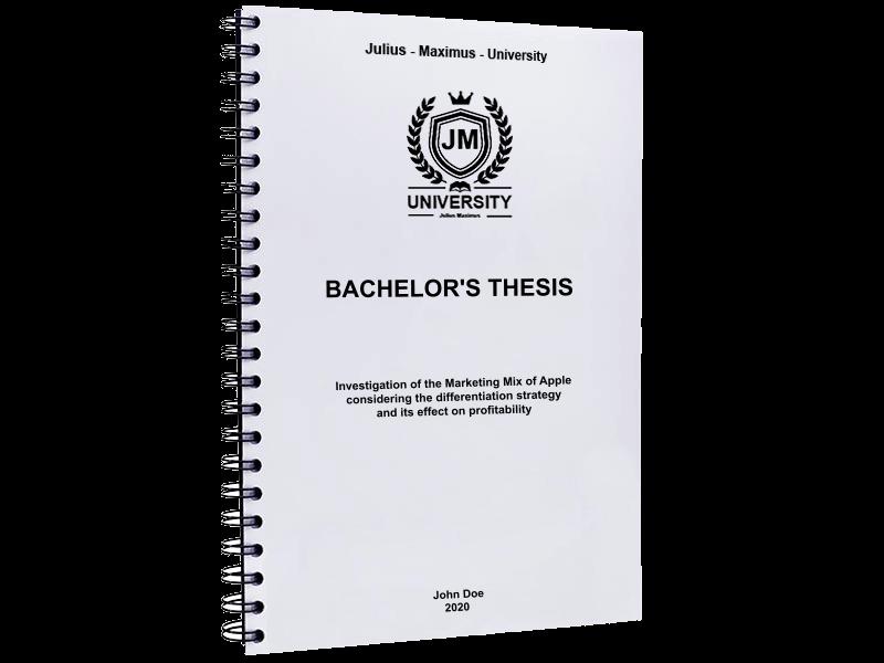 thesis printing binding black spiral
