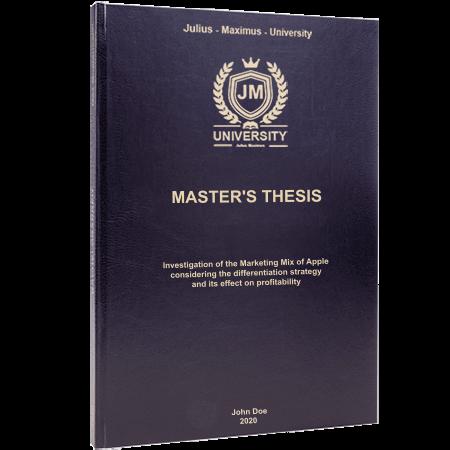 thesis printing standard binding black