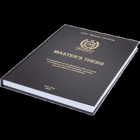 thesis standard binding black