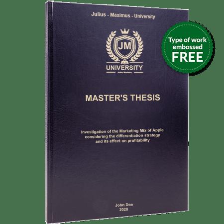 thesis printing binding leather binding black standard