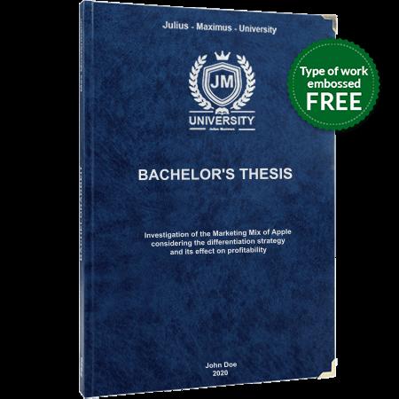 thesis printing binding leather binding