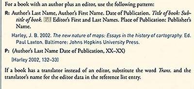Chicago Style Citation single author