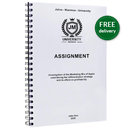 Assignment spiral binding free delivery