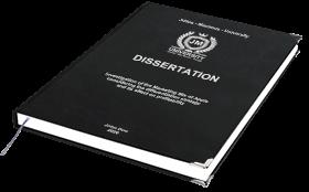 BachelorPrint dissertation binding