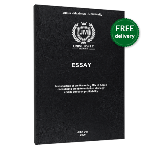Essay standard leather book binding