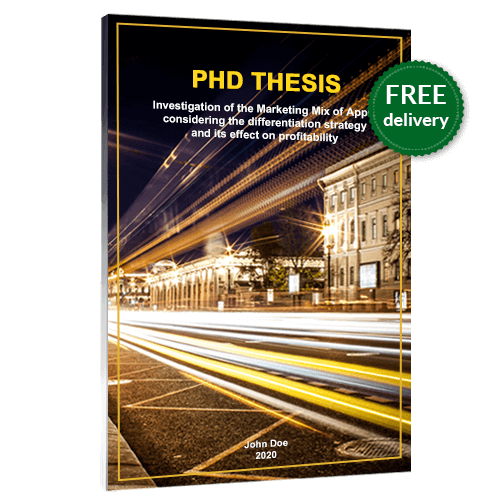 PhD binding softcover free delivery
