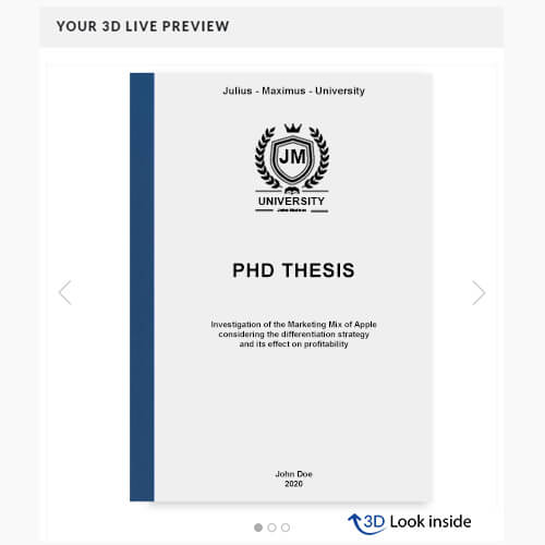 PhD printing thermal binding 3D-live-preview
