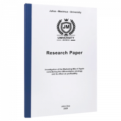 research paper outline paper printing & binding