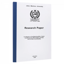 research question paper printing & binding