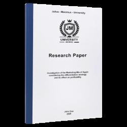 research topics paper printing & binding