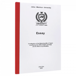 table of contents example essay printing & binding