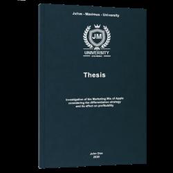 thesis title thesis printing & binding