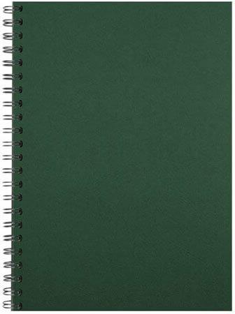 Comb binding back green