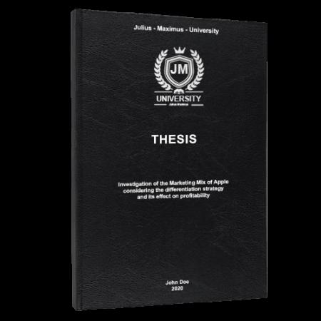 Thesis printing London
