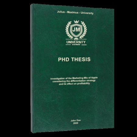 dissertation printing London