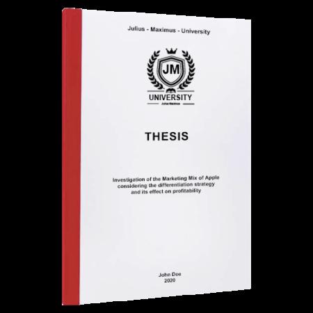 thesis binding London