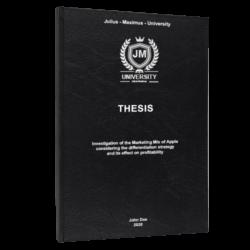 PESTEL analysis thesis printing