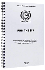 Spiral binding for Brighton students