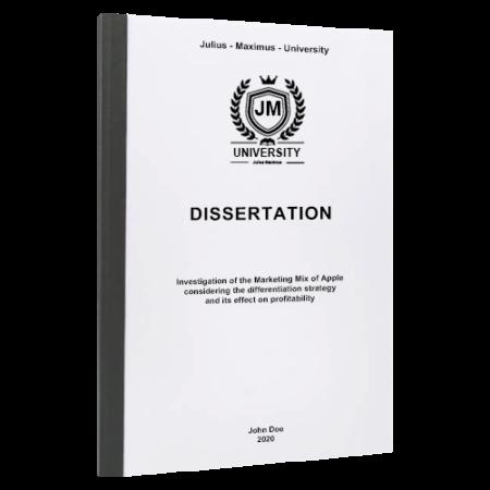 dissertation binding Exeter