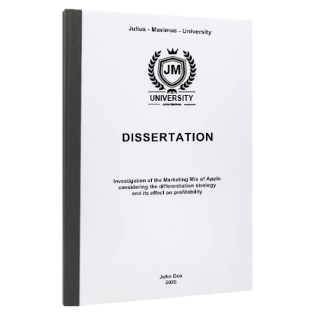 dissertation binding York