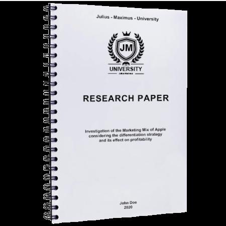 paper binding Sheffield