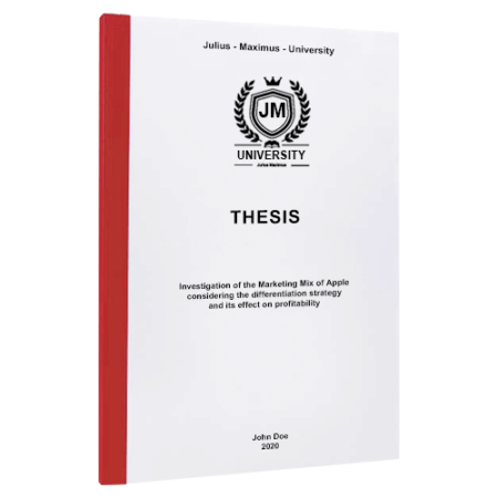 thesis binding York