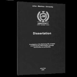 business model canvas dissertation printing binding