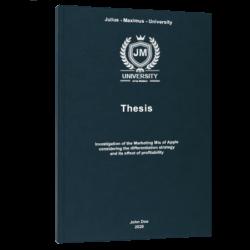 BCG matrix thesis printing binding