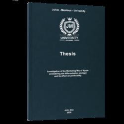 gap analysis thesis printing & binding