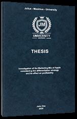 SWOT Analysis Thesis Printing & Binding