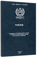 Stylistic Devices Thesis Printing & Binding