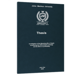 study group online course thesis printing binding